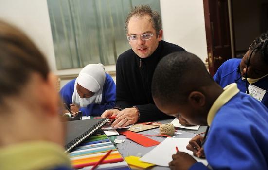 Photo of school pupils