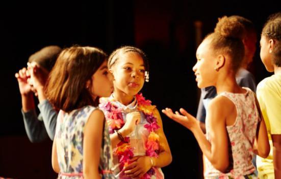 Photo of children in school workshop