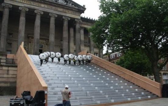 Image of performance on Harris Steps