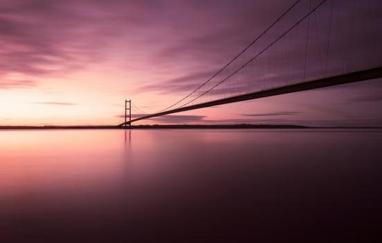 Photo of humber bridge