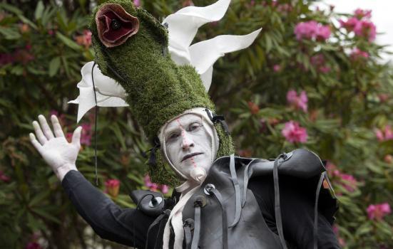Image of dancer at Craigieburn Gardens