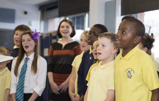 Photo of singing masterclass