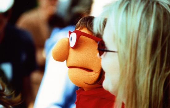 Photo of a puppet