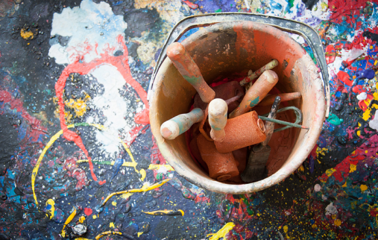 Photo of paint pot