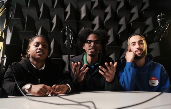 Kamiah, Nuradean and Santos - Vent at Brent 2020, London Borough of Culture