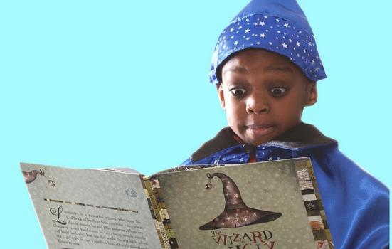 Child book wizard
