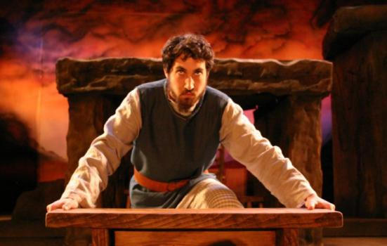 Photo of man performing in King Lear