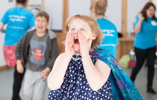 Photo of child shouting