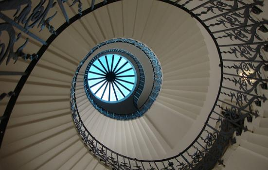 Photo of staircase at Queen's House