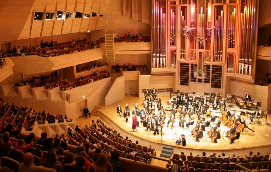 Image of classical music concert