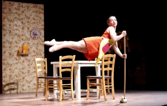 Image of circus performance