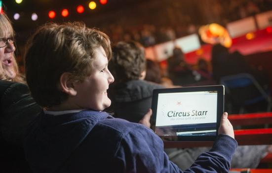 Photo of Circus Starr technology