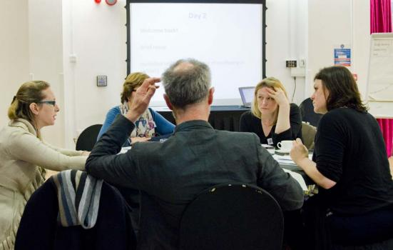 Photo of people in meeting