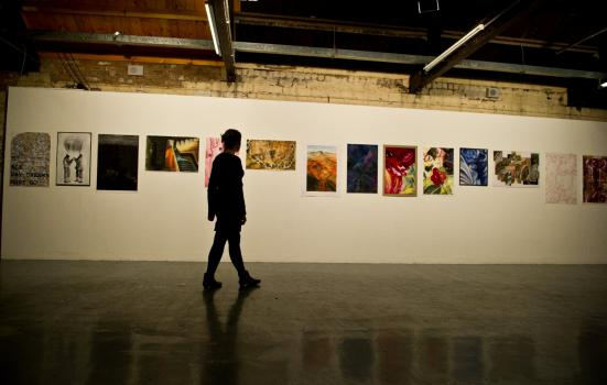 Image of exhibition at Tramway
