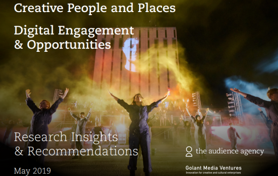 Cover image from a Creative People and Places digital report