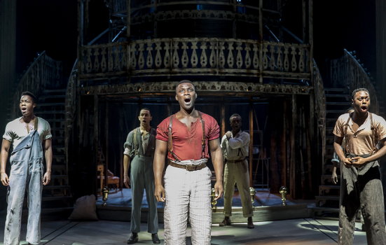 Photo of Emmanuel Kojo in showboat