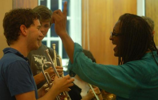 Image of a Sound and Music summer school