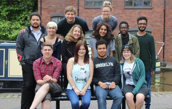 Photo of a group of young people