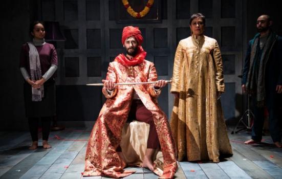 Photo of production of Macbeth