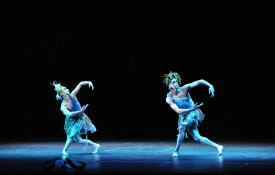 Photo of two dancers