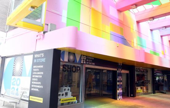 Coventry city of culture shop