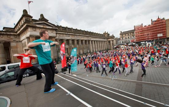 Image of Big Dance Pledge in Edinburgh