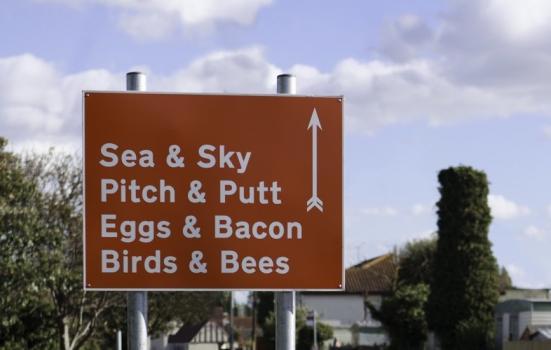 Image of village sign