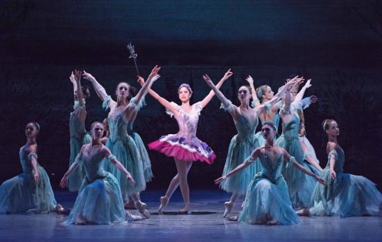 Image from Royal Ballet's Sleeping Beauty