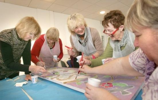 Image of community activity at Spectrum Centre