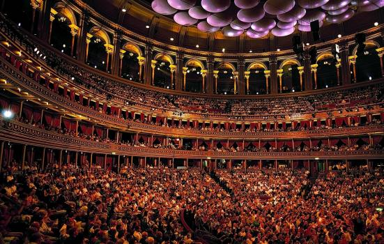 Packed auditorium at Royal Albert Hall