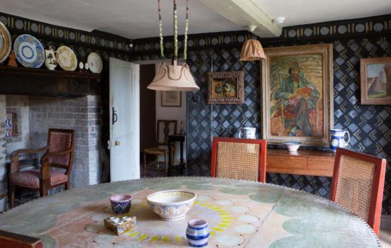 The dining room at Charleston