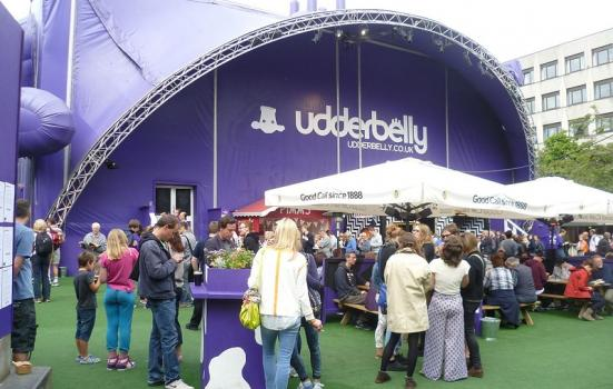 Photo of the Udderbelly venue