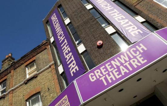 Photo of exterior of Greenwich Theatre