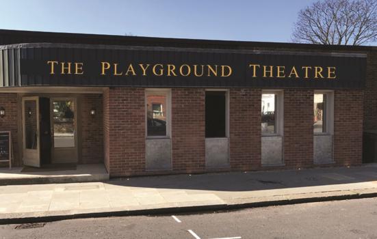 Photo of exterior of theatre