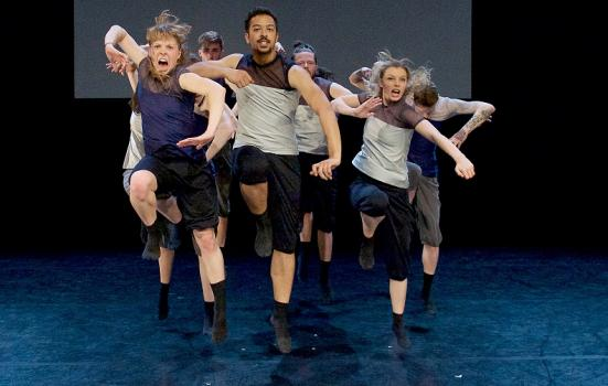 Photo of dancers performing