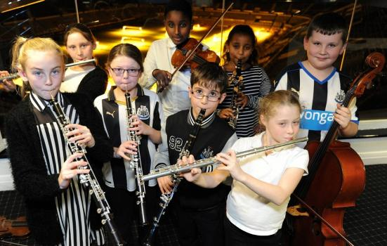 Photo of young musicaians