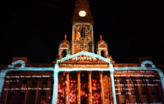 Image of Portsmouth Guildhall during the final presentation