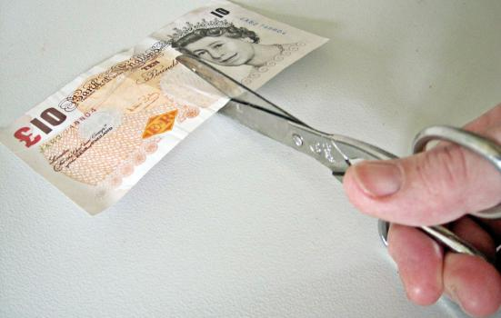 Cutting money