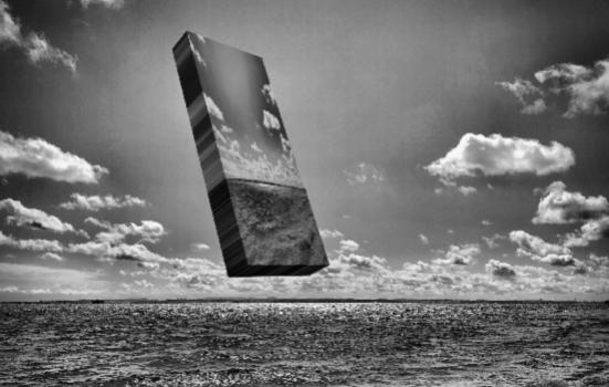 Photo of Jon Adams' artwork