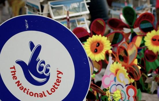 Photo of National Lottery sign