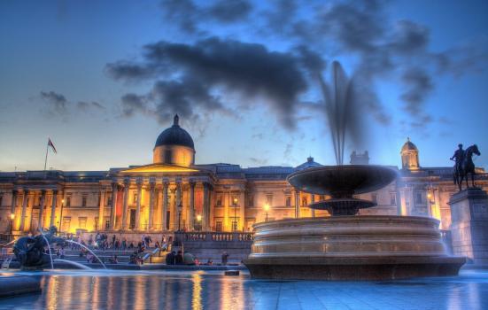 National Gallery night