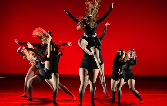 Photo of a dance performance