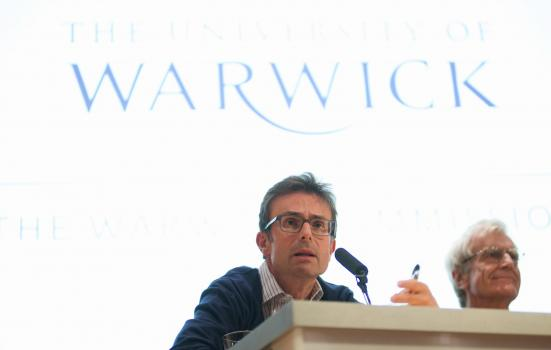 Robert Peston at the Warwick Commission debate