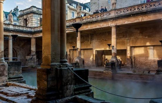 Photo of Roman baths