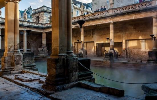 Photo of Baths' courtyard