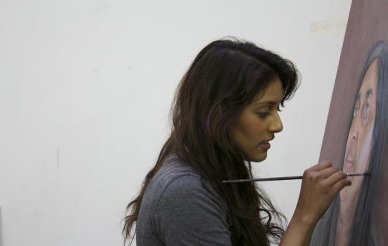 Image of Roshni Hirani painting