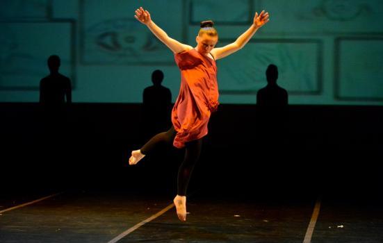 Photo of girl dancing