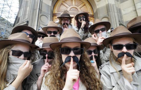 Secret Comedy Podcast at Edinburgh Fringe 2013