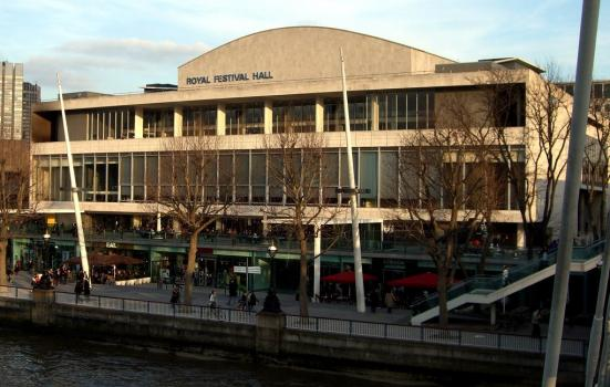 A photo of the Royal Festival Hall in London