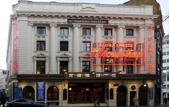 St Martin's Theatre on London's West End